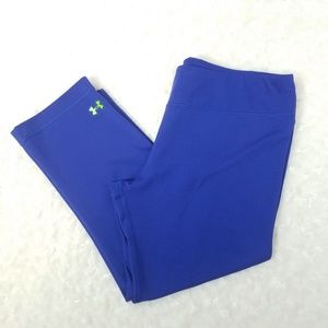 Under Armour Blue Cropped Workout Leggings